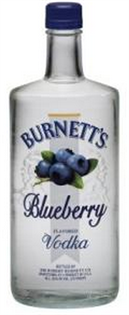 Burnett's Vodka Blueberry 750ml - Case of 12